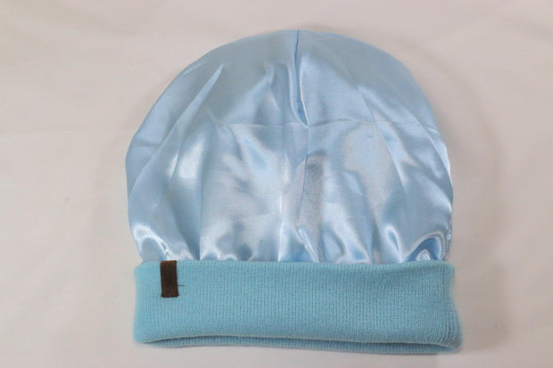 The Fit Beanie in Baby Blue - COSI & co.