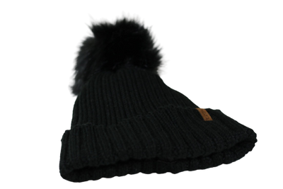The Knit Pom in Black - COSI & co.