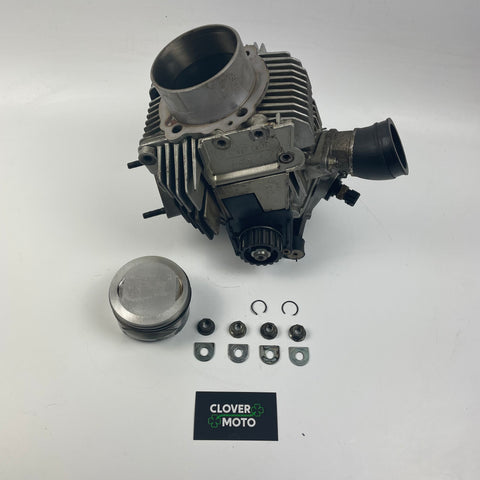 Used OEM Ducati Supersport 750 Horizontal Cylinder Head With Piston