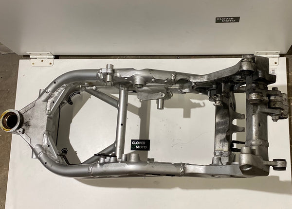 Used OEM Suzuki SV650 Main Frame Silver Complete With Documents