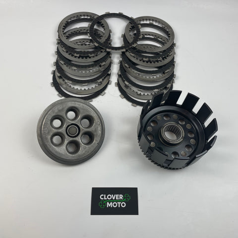 Used OEM Ducati Supersport 750 Clutch Basket Kit Without Clutch Drum