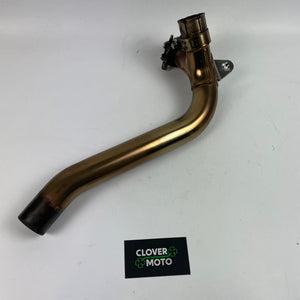 Used OEM Triumph Street Triple 675 (11') Exhaust Mid Pipe Y Style Pipe