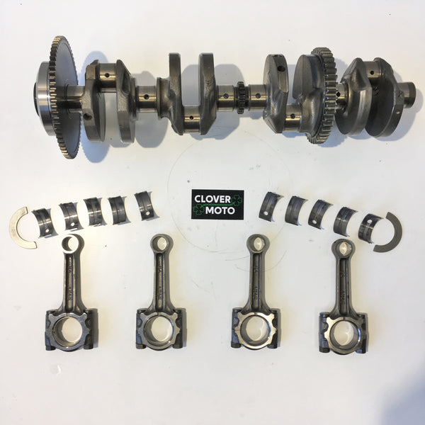 Used OEM Suzuki Bandit 600 Crankshaft With Connecting Rods