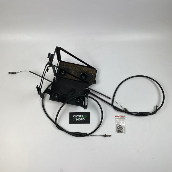 Used OEM BMW R1150R (01') Battery Tray with Cable Distributor