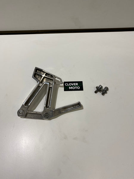Used OEM Yamaha Fazer 600 Rear Footrest Peg Bracket Left