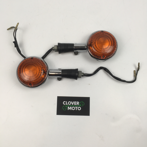 Used OEM Yamaha Virago XV535 Set Of Front Flasher Lights