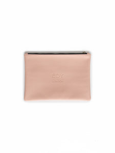 Brush & Cosmetic Purse - Pale Pink