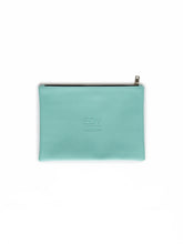 Load image into Gallery viewer, Brush & Cosmetic Purse - Turquoise