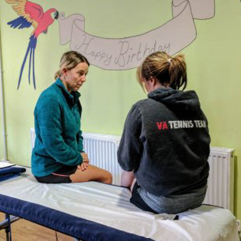 First week on our Sports Massage Course