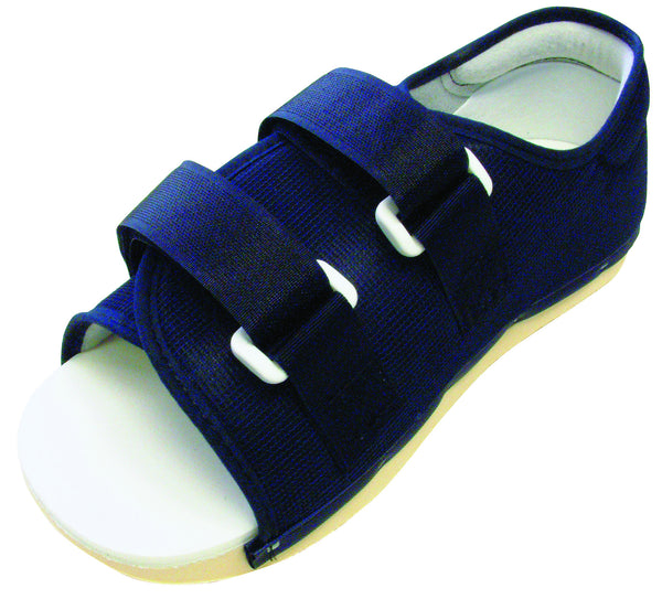 DELUXE RIGID POST-OP SHOE WITH COLLAR   33-1387 & 33-1388