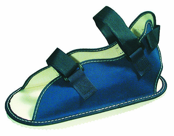 ROCKER CAST SHOE WITH HOOK AND LOOP CLOSURE   33-1402