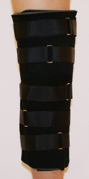 BASIS KNEE IMMOBILIZER WITH ADJUSTABLE STRAPS   33-1615
