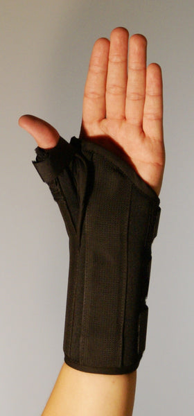 THUMB SPICA WITH WRIST SUPPORT   33-171100  &  33-171200