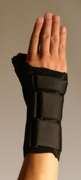 THUMB SPICA WITH WRIST SUPPORT    33-1711 & 33-1712