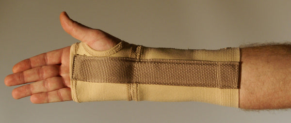 ELASTIC WRIST  AND FOREARM SPLINT   33-1836-9  &  33-1837-9