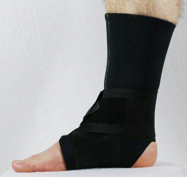 WRAP AROUND ANKLE SUPPORT WITH ZIPPER CP-309003