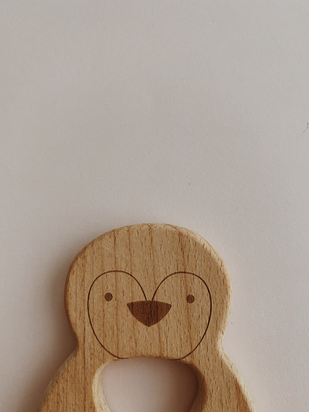 Wooden figurine - Penguin