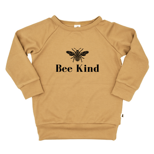 'BEE KIND' Bamboo/Cotton Pullover