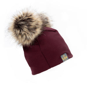 Double Pom Pom 3 Season Hat