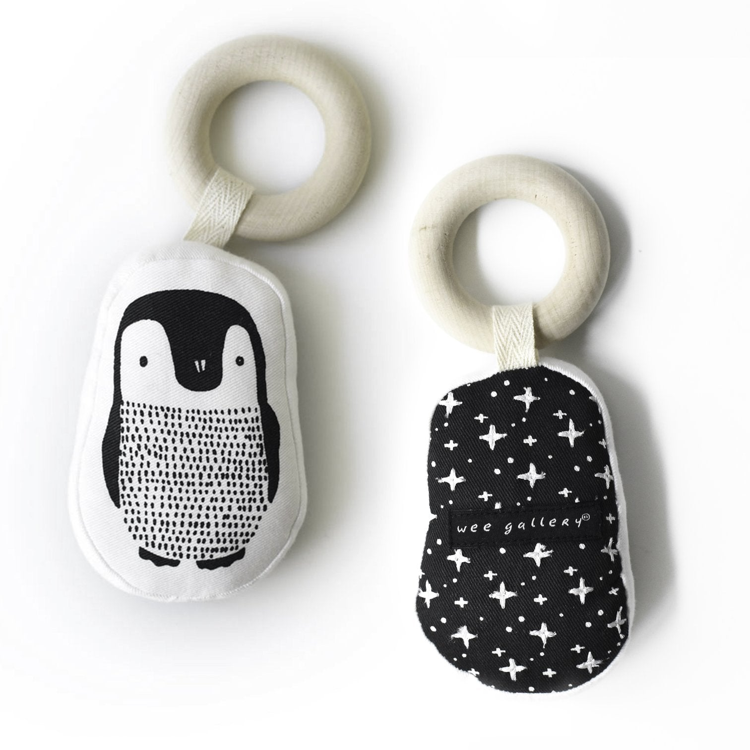 ORGANIC TEETHER - PENGUIN