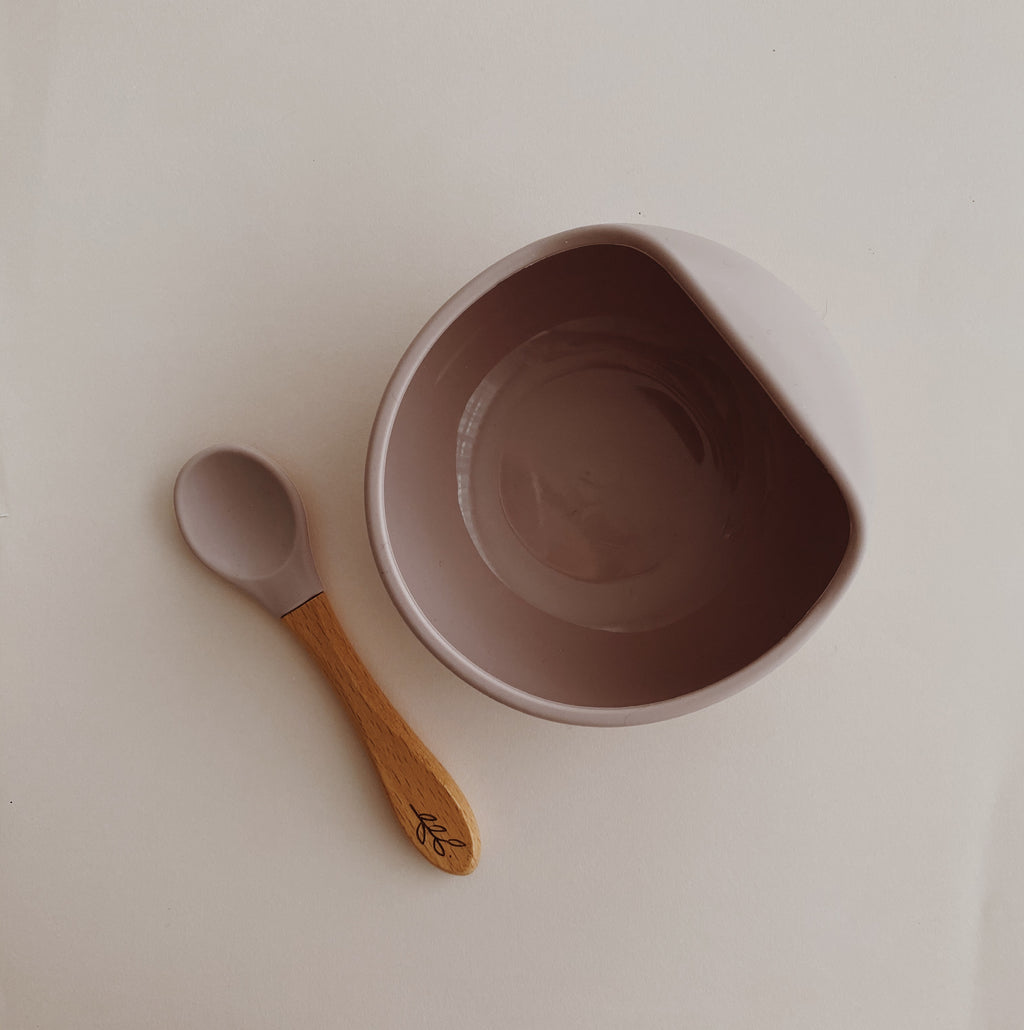 Silicone Bowl and Spoon Set