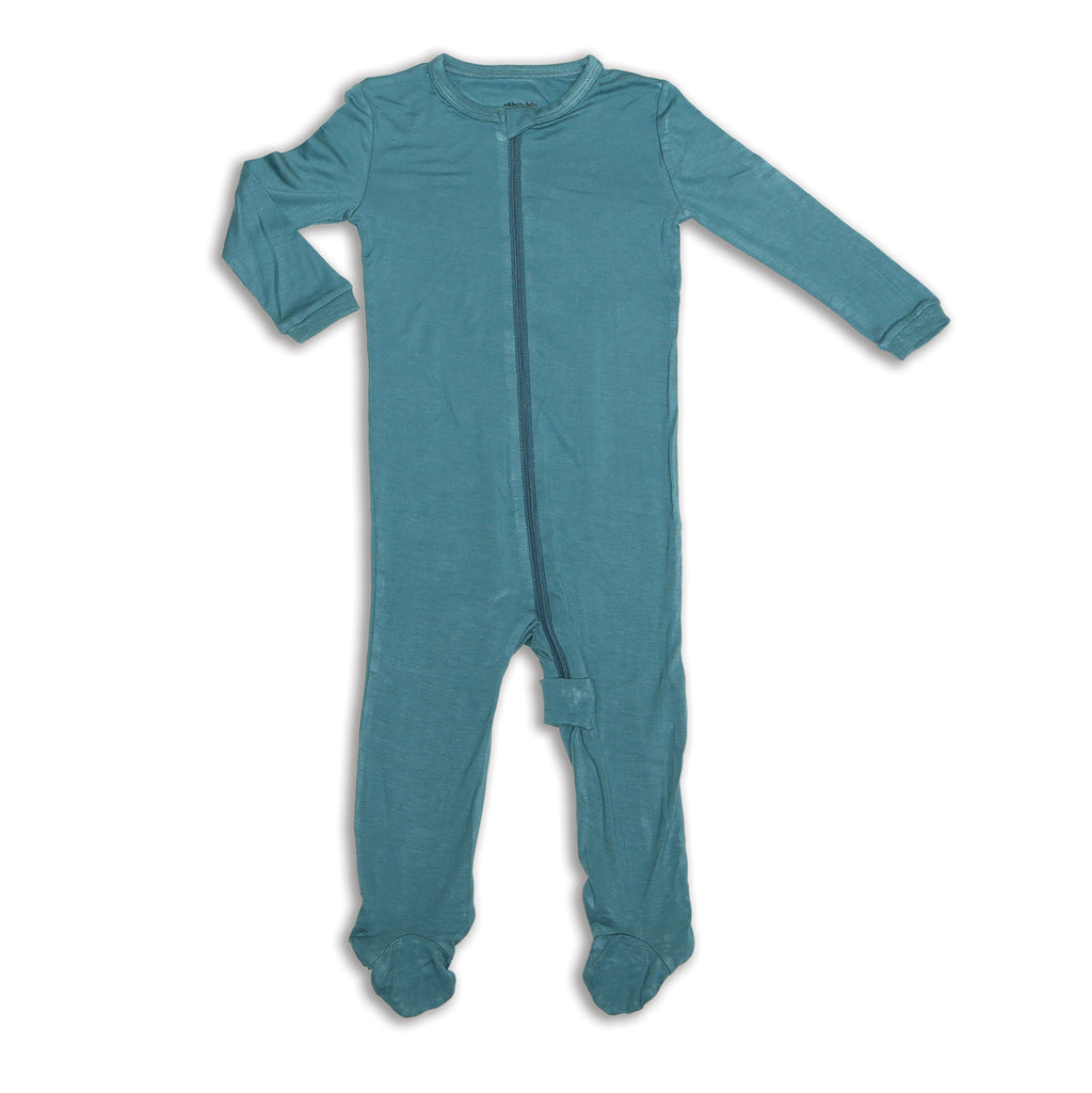 Bamboo Zip-up Footed Sleeper