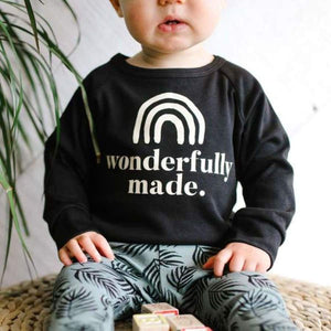 Bamboo/Cotton 'Wonderfully Made' Pullover