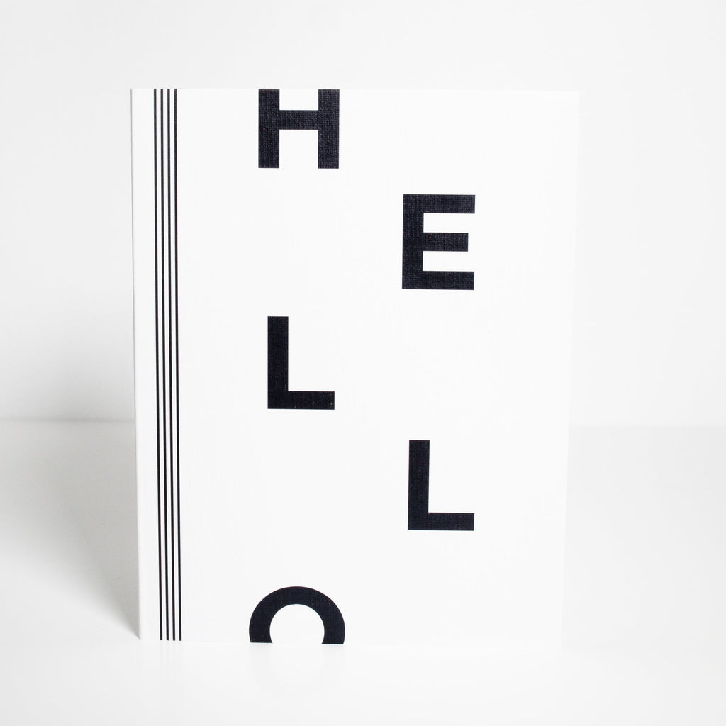 "[note:able]  - ""Hello"" Card"