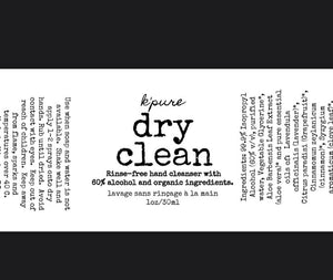 Dry Clean Rinse-Free Hand Cleanser - Orange/mint