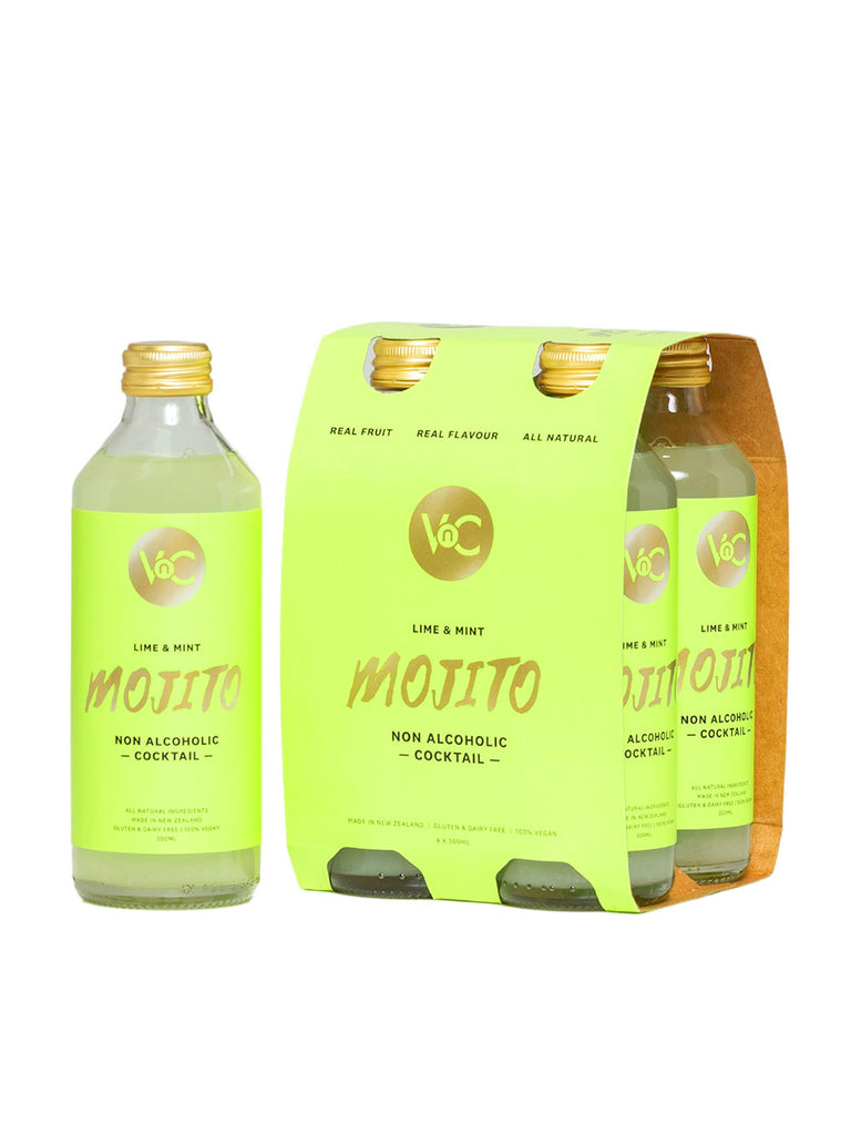4 pack of VnC Mojito Cocktail bottles.
