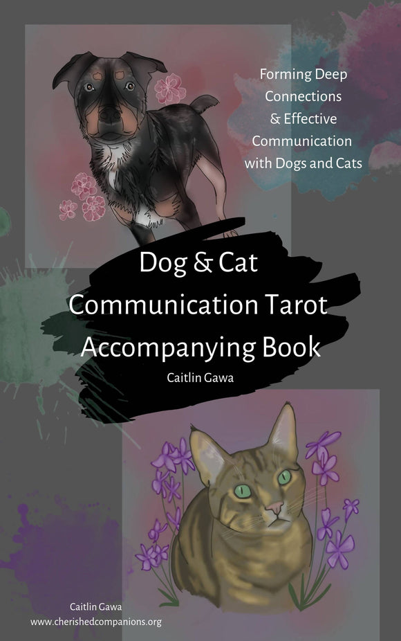 Dog & Cat Communication Tarot Accompanying Book