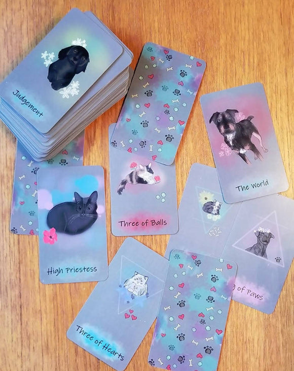 The Dog & Cat Communication Tarot
