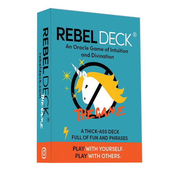 Rebel Deck - The GAME - Hybrid Oracle/Game Deck (112 Cards)