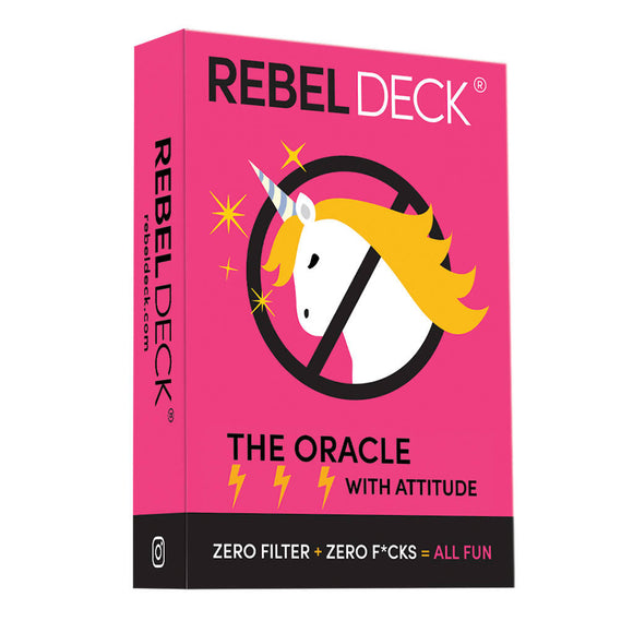 REBEL Deck - Original - Funny Modern Oracle (60 Cards)