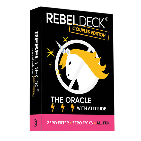 Rebel Deck - Couples Edition - Funny Modern Oracle