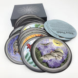 Sawyer's Nature Portals (52 Round Oracle Cards)