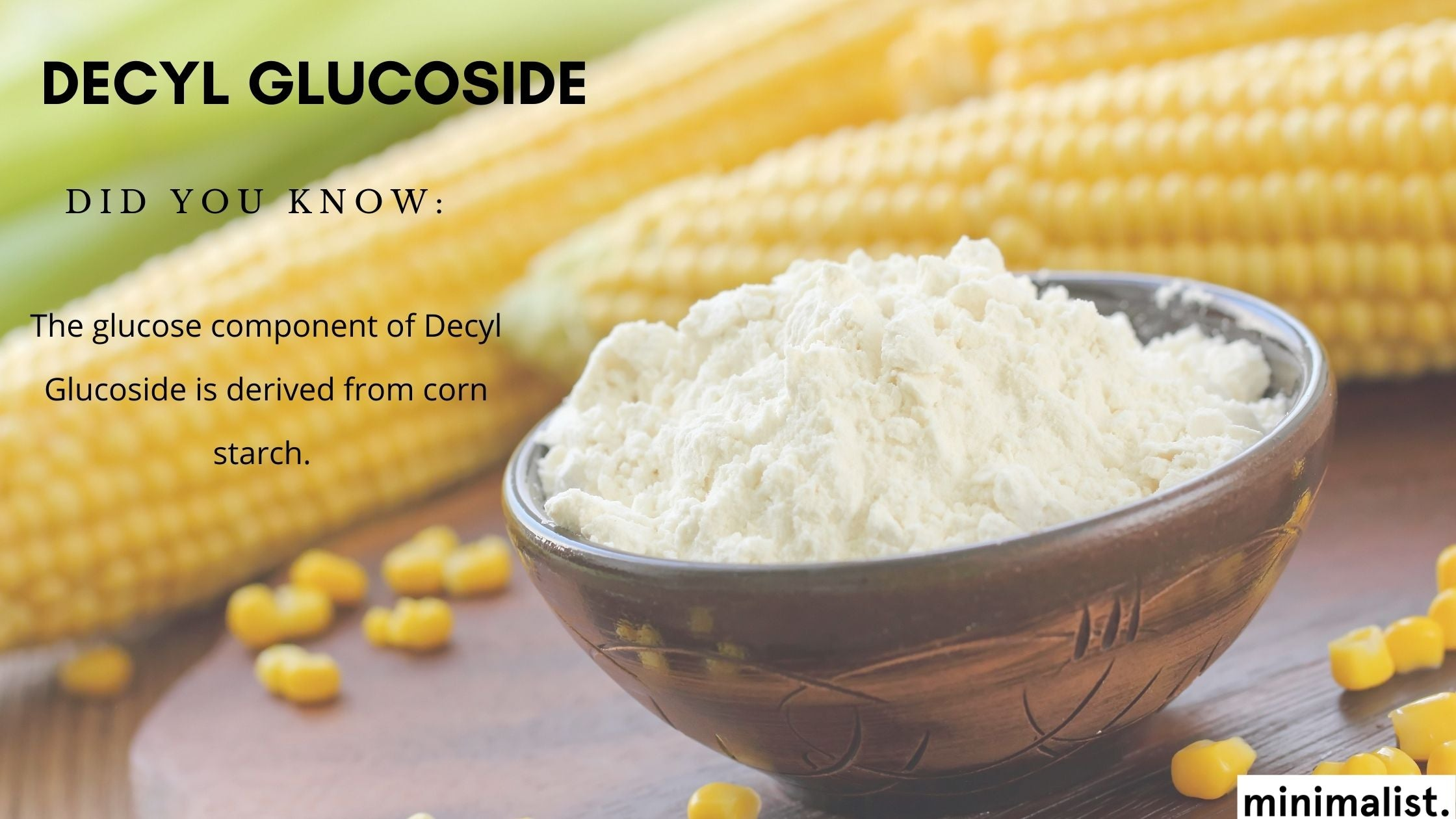 How is Decyl Glucoside obtained?