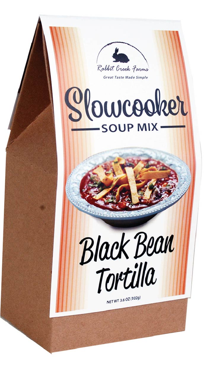 Black Bean Tortilla Slow Cooker Soup Mix
