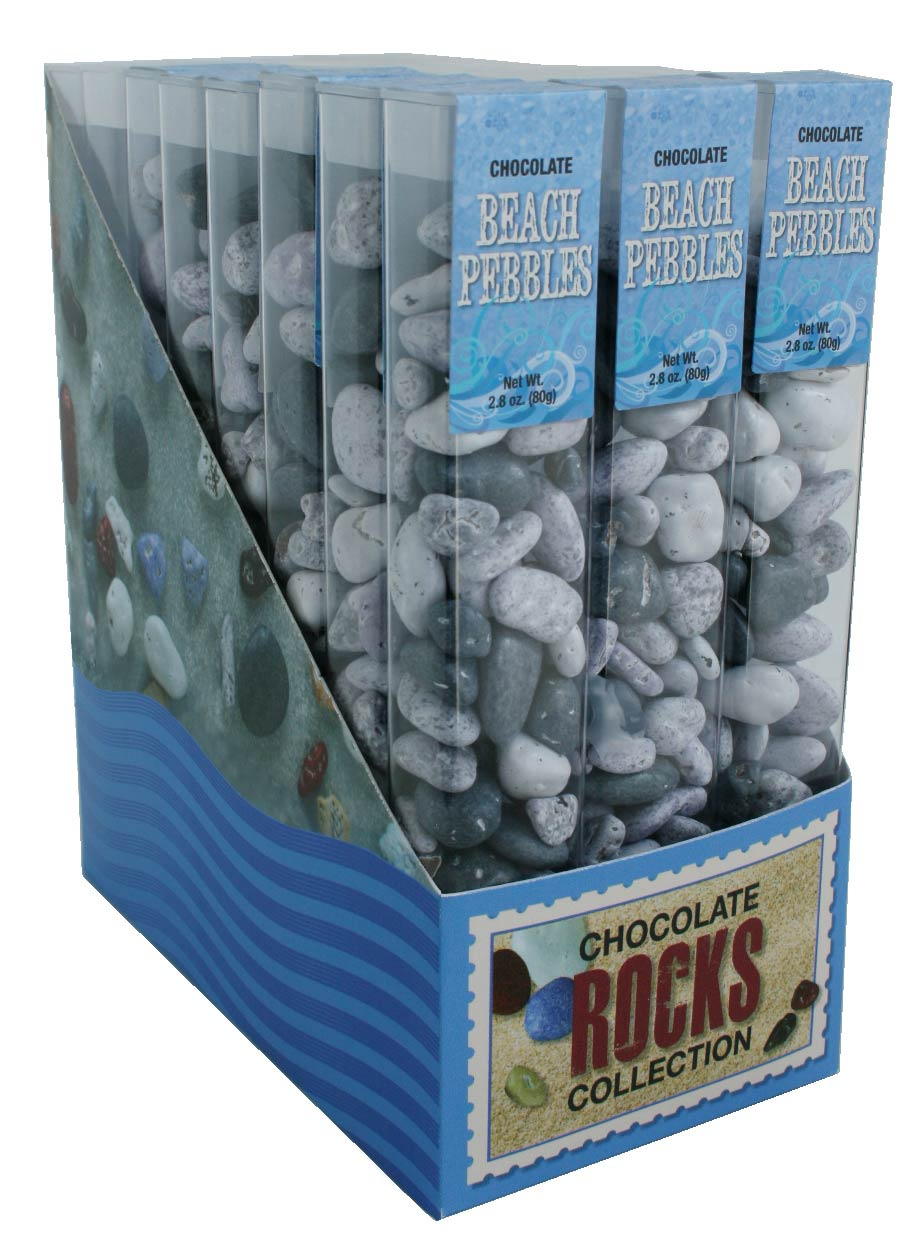 Chocolate Beach Pebbles 2.8oz.