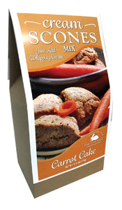 Carrot Cake Cream Scone Mix
