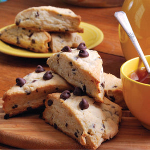 Chocolate Chip Caramel Cream Scone Mix