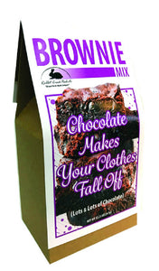 Chocolate Makes Your Clothes Fall Off Brownie Mix