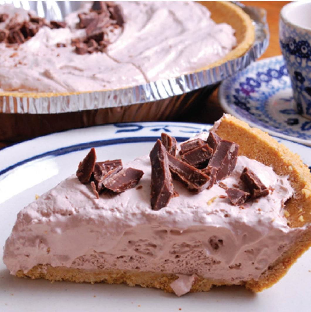 Chocolate Mousse No Bake Cheesecake