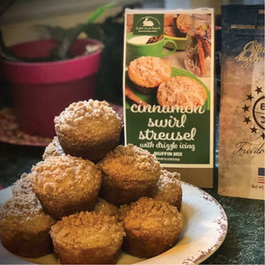 Cinnamon Swirl Streusel Muffin Mix