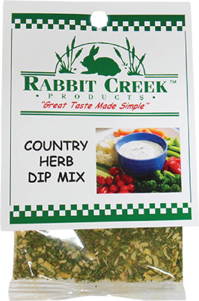 Country Herb Vegetable Dip Mix