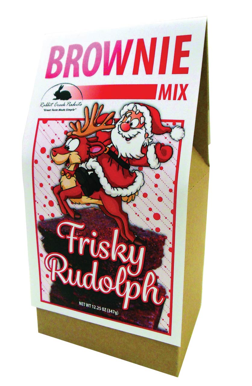Frisky Rudolph the Reindeer Brownie Mix