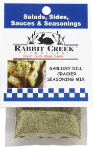Garlicky Dill Cracker Seasoning Mix