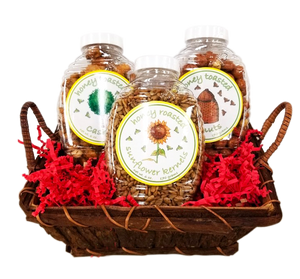 Honey Toasted Nuts Gift Basket