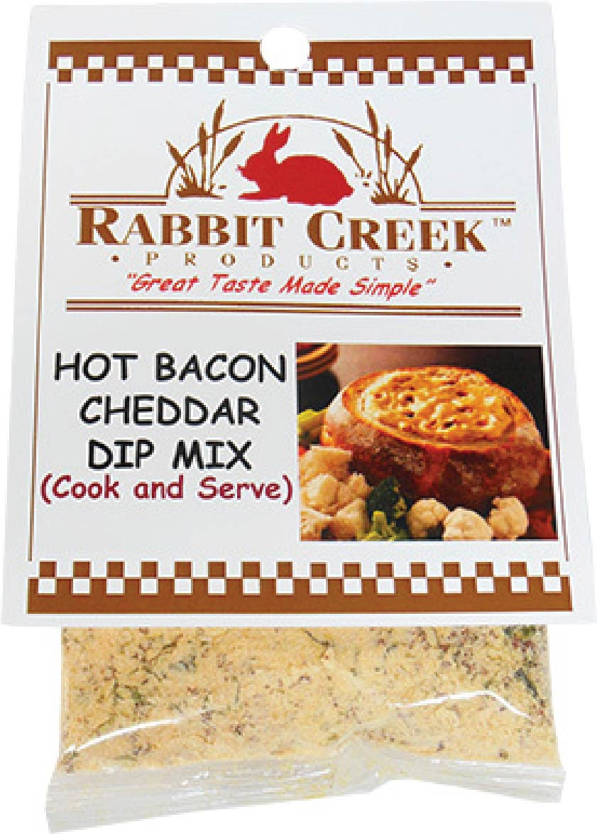 Hot Bacon Cheddar Cook & Serve Dip Mix