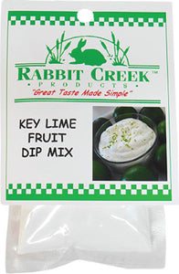 Key Lime Fruit Dip Mix